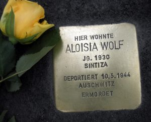Aloisia Wolf Stolperstein