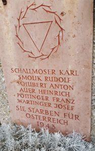 Anton Schubert Sammelgrab