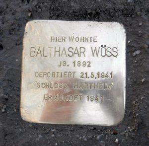 Balthasar Wöss Stolperstein