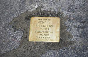 Heinrich Schönberg Stolperstein