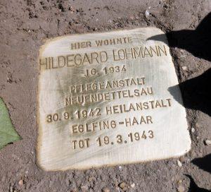 Hildegard Lohmann Stolperstein