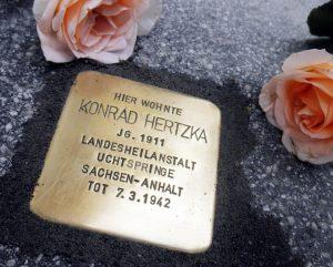 Konrad Hertzka Stolperstein