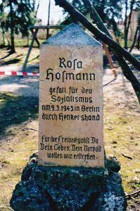 Rosa Hofmann Denkmal
