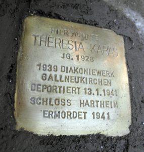 Theresia Karas Stolperstein